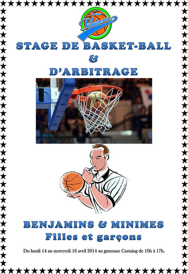Affiche Stage d'Avril