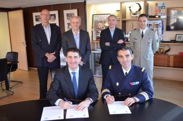 Nouveau partenariat entre la FFBB et le Ministère de la Défense