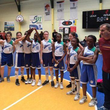 Les U13 F remportent le trophée Cator !