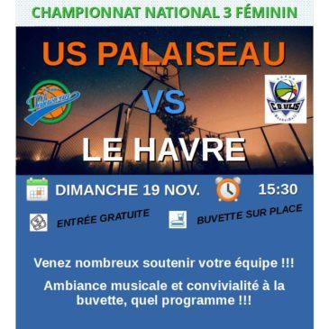 Match NF3 contre Le Havre