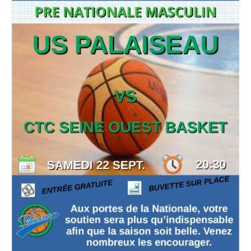 Premier match Pré Nat Masculin