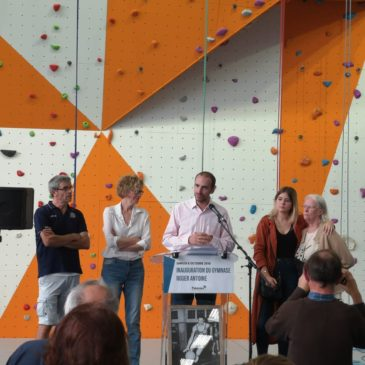 Inauguration Gymnase Roger Antoine