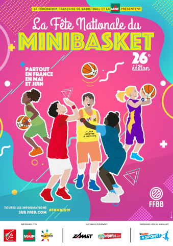 Fête Nationale du mini basket 2019 à Palaiseau