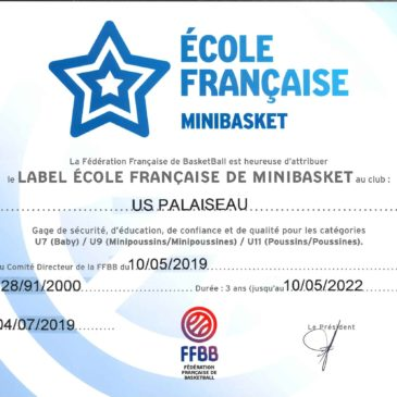 Renouvellement label EFMB