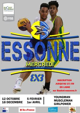 3×3 J1 Championnat Essonne