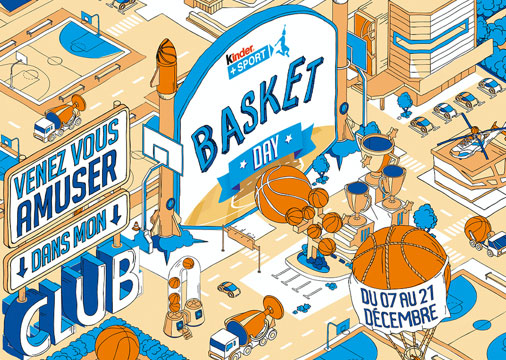 LE KINDER + SPORT BASKET DAY