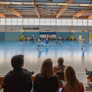 SF3 – Caen contre US Palaiseau en photos