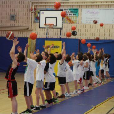 Photos de la fête du MiniBasket 2016