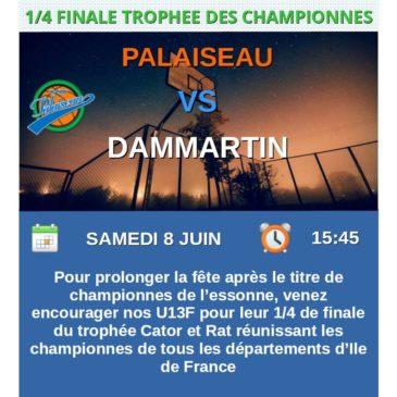 Match U13F du 08 06 2019
