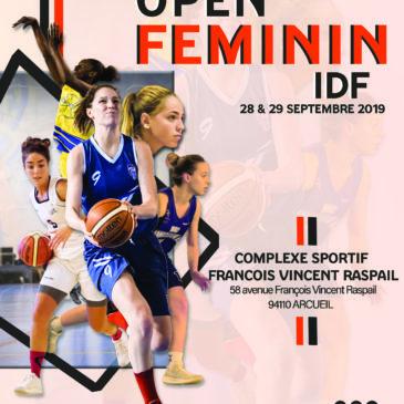 Open féminin PNF 2019