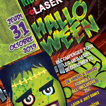 Laser Quest Massy Halloween