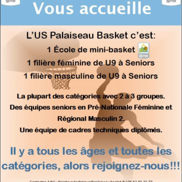 Palaiseau Basket vous accueille